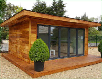 Norfolk garden buildings supersips sw for Building a house with sip panels